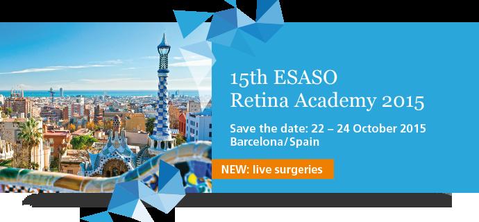 15th Esaso retina academy 2015