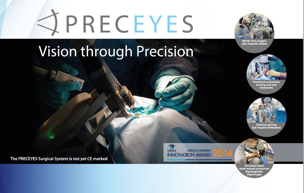 PRECEYES Surgical System demonstration
