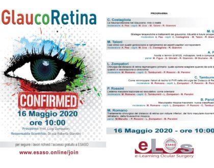 ESASO: GlaucoRetina 2020 - eLos